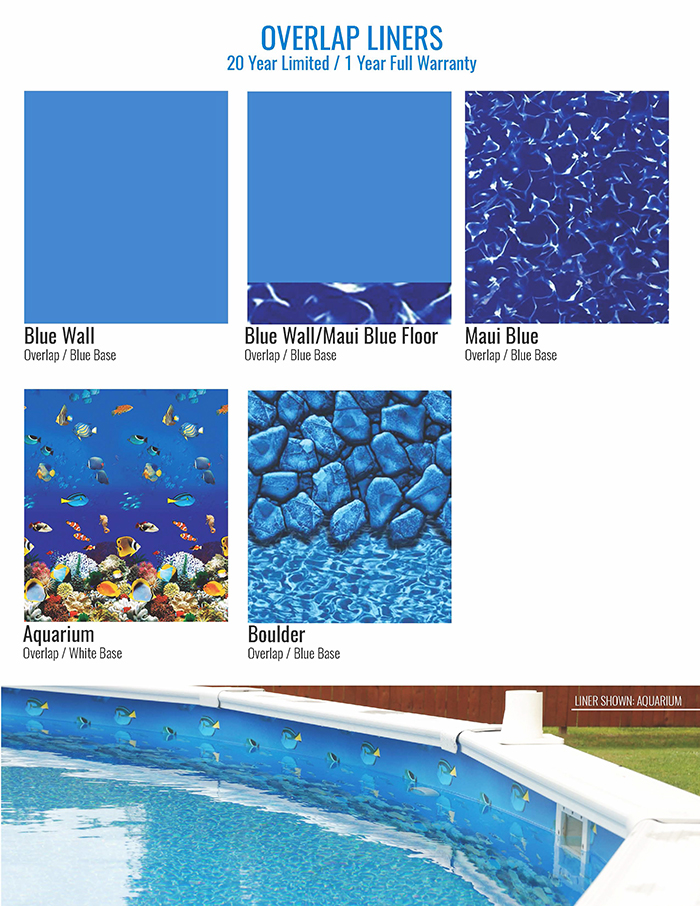 Replacement Above Ground Liners - Leisure World Pools